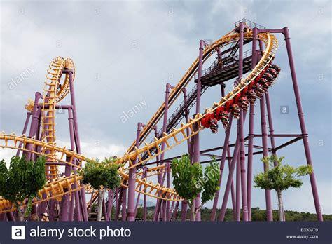 theme park benidorm rollercoaster terra mitica theme park benidorm alicante