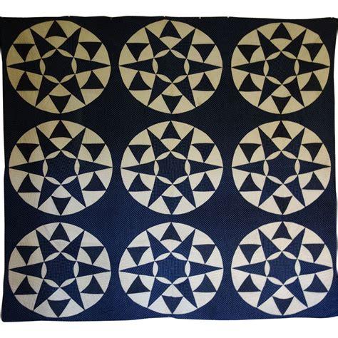 Indigo Quilt by Quilt Mariner S Compass Indigo 1800 S New From