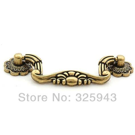 10PCS 76mm Vintage Kitchen Cabinet Knobs And Handles Furniture Bedroom Antique Door Drawer Pulls