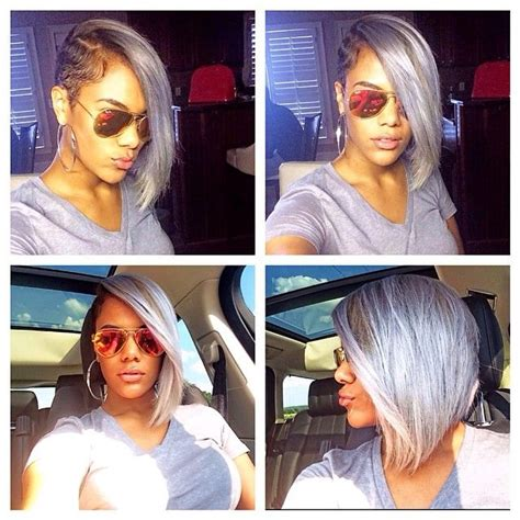 shave one sided short bobs black women photos 17 best images about hair styles on pinterest side shave