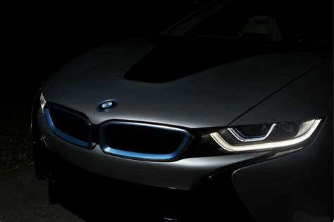 bmw laser headlights bmw is with laser lights as the 2015 i8 enters