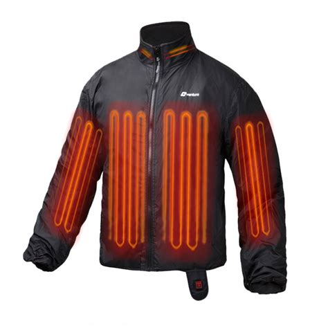 heated motorcycle clothing motorcycle heated jacket liner heated riding gear