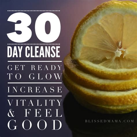 30 Day Detox By Faith Smith by 30 Day Cleanse Get Ready To Glow Increase Vitality And