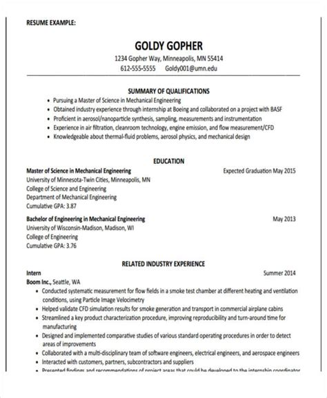 Resume Template Education 22 Education Resume Sles Free Premium Templates