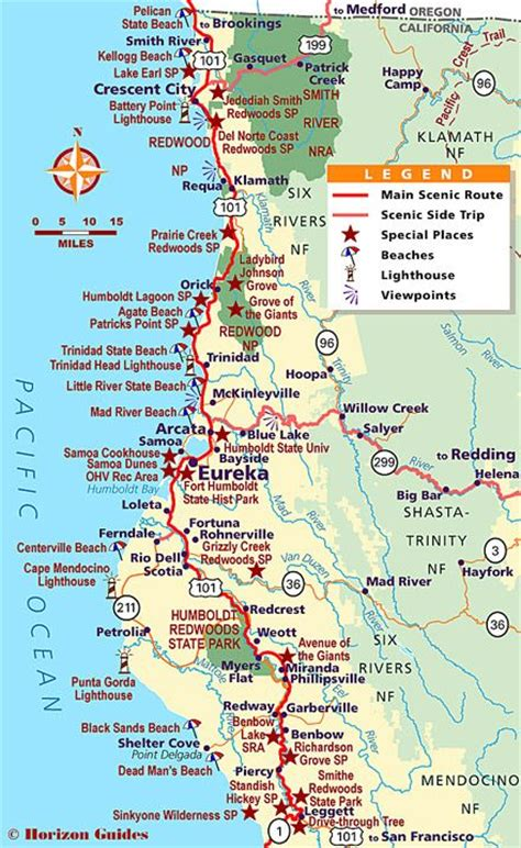 map of oregon and california coast the world s catalog of ideas