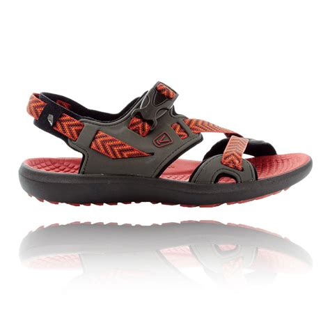 keen trekking sandals keen maupin mens black outdoors hiking walking sandals