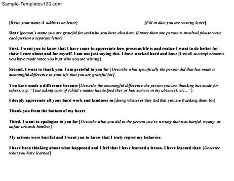 Apology Letter To Boyfriend For Breaking Up Apology Letter To Boyfriend Sle Templates
