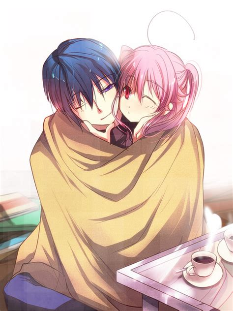 cute anime couples angels anime girl sleeping in bed tumblr lp50m5aiw01r084k0o1