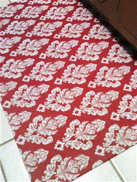 custom fabric rug diy projects step