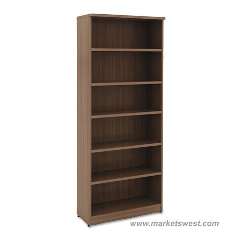 6 Shelf Bookcases by Alera 6 Shelf Laminate Bookcase