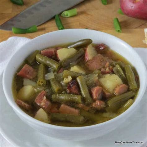 carbohydrates green beans hearty low carb ham and green bean soup can i