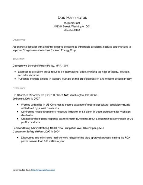 Resume Exles With Experience How To Do A Resume With No Experience Time Resume With No Experience Sles