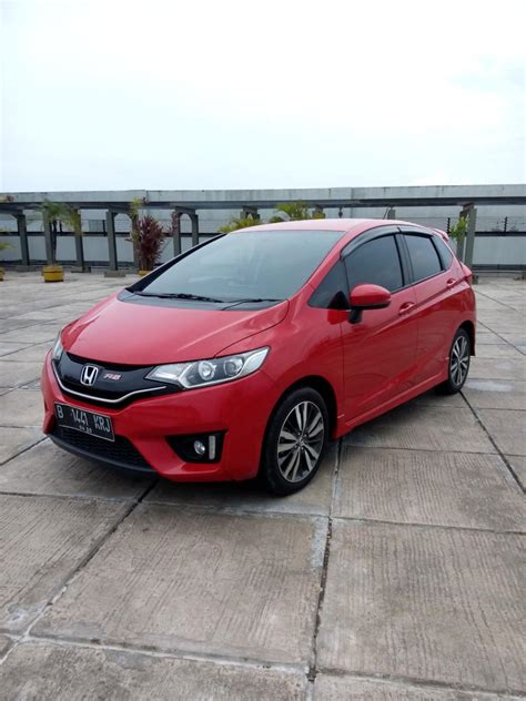 Kunci Honda Jazz Rs honda jazz rs all new at tahun 2015 warna merah lengkap kunci cadangan mobilbekas