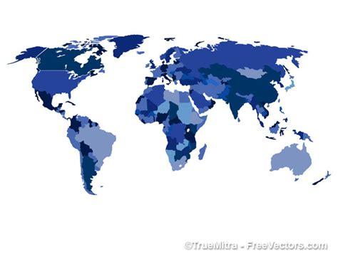 world of color blue section carte du monde avec les pays en bleu t 233 l 233 charger des