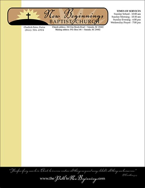 church letterhead template church letterhead sles cake ideas and designs