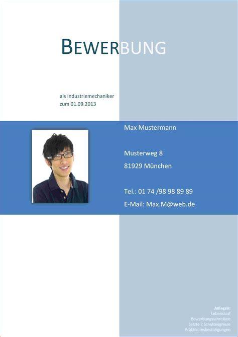 Deckblatt Vorlagen Modern 7 Bewerbung Deckblatt Vorlagen Reimbursement Format
