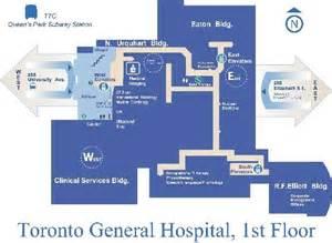 toronto general hospital floor plan design projects