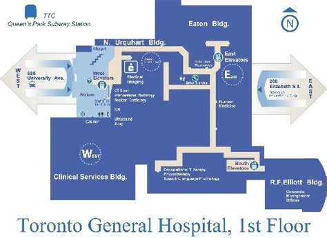 General Hospital Floor Plan by Toronto General Hospital Floor Plan Design Projects