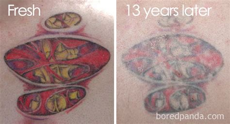 watercolor tattoo 10 years later thinking of getting a these 10 pics reveal how