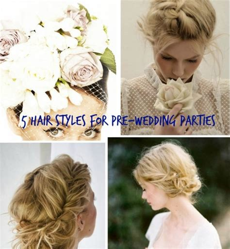 Diy Wedding Hairstyles For Hair by 5 Diy Hair Styles For Pre Wedding Diy Weddings