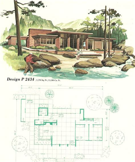 1960s house plans vintage house plans vacation homes 1960s i want to