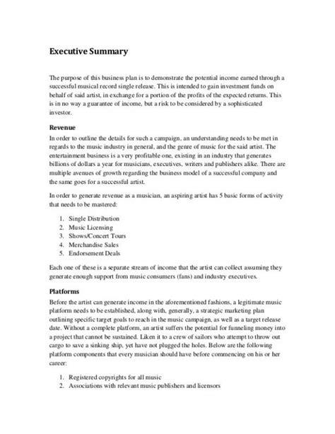 design executive meaning executive summary marketing plan beneficialholdings info