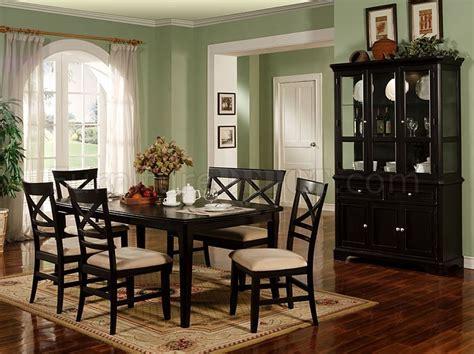 black dining room furniture black finish contemporary dining room furniture