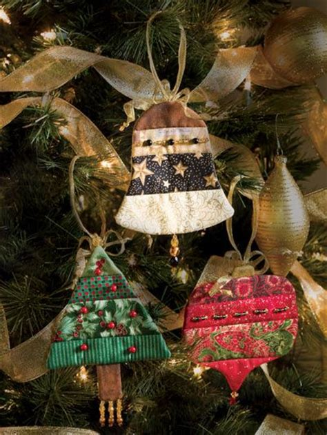 Patchwork Tree Decorations - 17 best images about patchwork ornaments on
