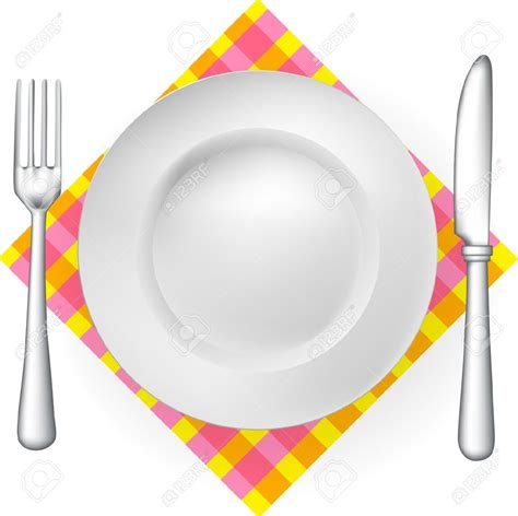 plate clip plate clipart plate fork pencil and in color plate
