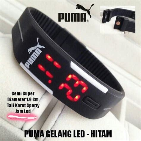 Led Karet jam tangan gelang led karet rubber led nike adidas 484 barang unik china barang