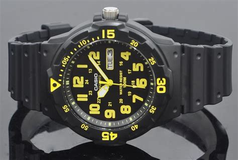 Casio Mrw 200h 4bvdf 100 Meter Water Resistance s watches casio marine sport for mrw 200h 9bvdf was listed for r595 00 on 15