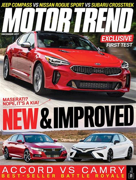 motor trend subscription motor trend magazine subscription discounts renewals gifts