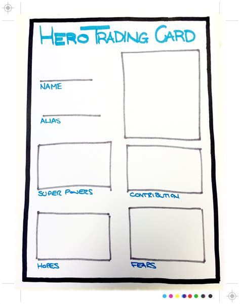 author trading card template breaking through icebreakers pragmateam agile