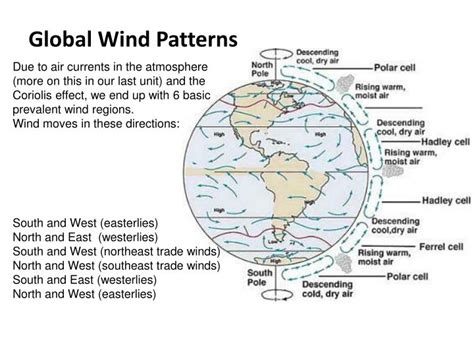 Global Wind Patterns Worksheet