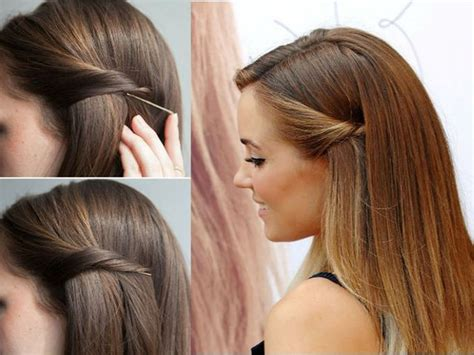 Hair Style Tools Name Handy by 1 Minute Hair Styling Hacks To Make You Look Gorgeous