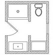 5x7 bathroom layout 5x9 or 5x8 bathroom plans house ideas pinterest the