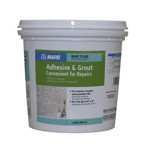shop mapei 3 3 8 lbs white epoxy premixed grout at lowes com