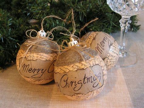 rustic christmas tree ornaments invitation template