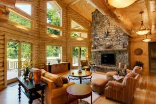 Log Homes Interior Pictures by Log Home Interiors High Peaks Log Homes