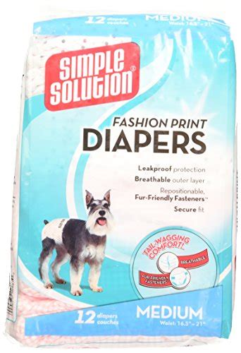 Disposable Diapers X S M L simple solution fashion print disposable diapers