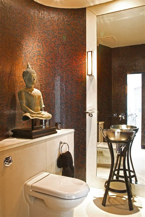 awesome zen bathroom decor with accent tile japanese