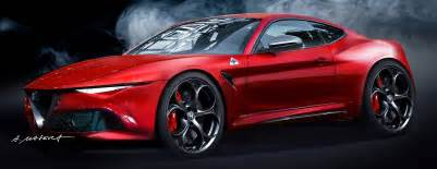 Alfa Romeo D Alfa Romeo Coupe Rendering Is One Ride