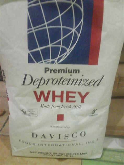 esen bubuk whey powder davisco