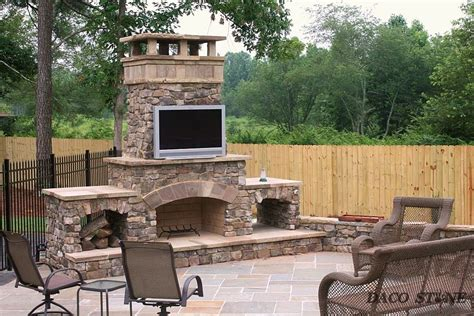 Firebox For Outdoor Fireplace by Fireplace Kits Outdoor Fireplaces And Pits Daco