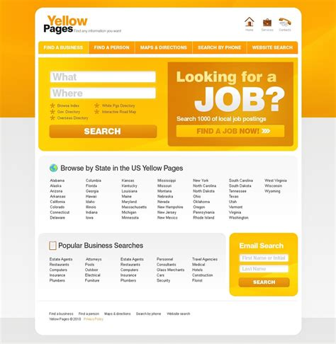 html themes for job portal job portal website template 28745