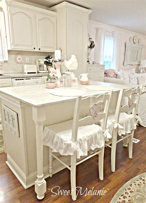 shabby chic kitchen island chic white dreamy kitchens shabby and vintage style