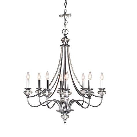 Chrome Chandelier Home Decorators Collection Nottinghill Collection 8 Light Chrome Chandelier 21086 014 The Home