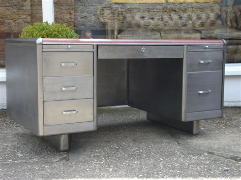 Images Of Desks sold 20th century polished steel desk antique desks