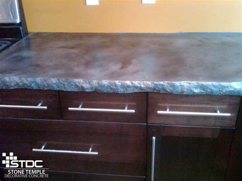 Concrete Countertops Poured In Place by Cast In Place Concrete Countertops Stdc