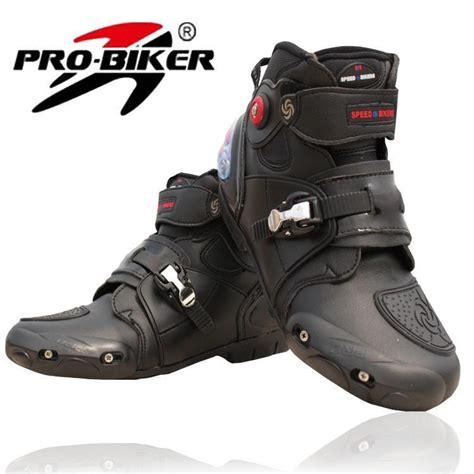 mc ride boots motorcycle boots pro biker high ankle racing boots bikers